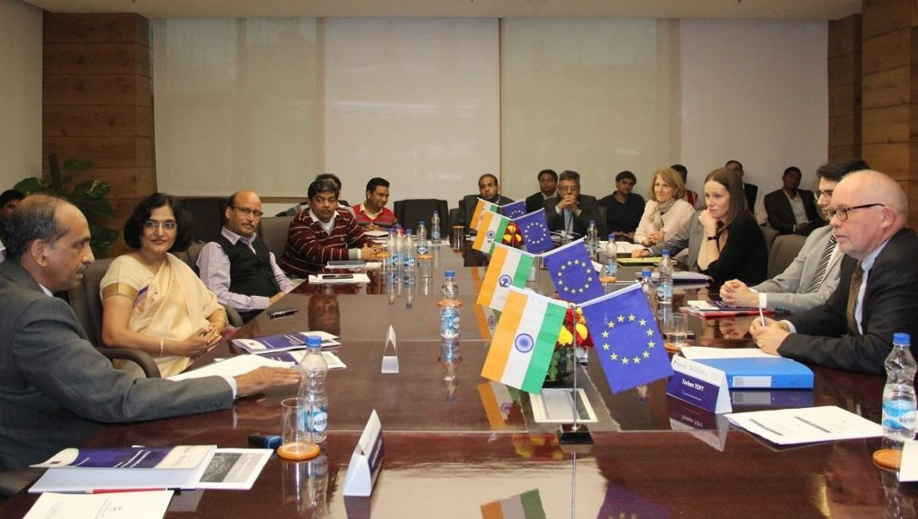1st EU-India CW